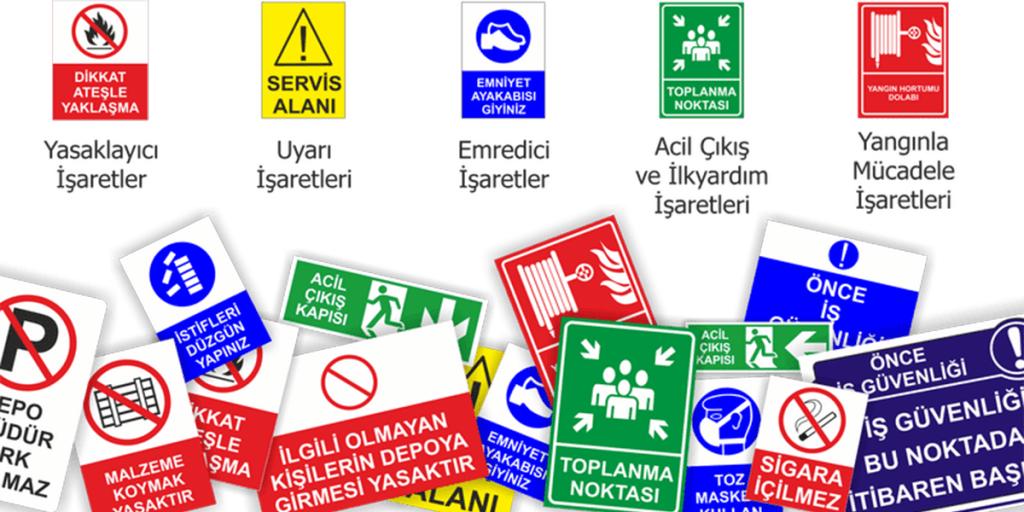 Güvenlik Ve Sağlık İşaretleri Eğitimi